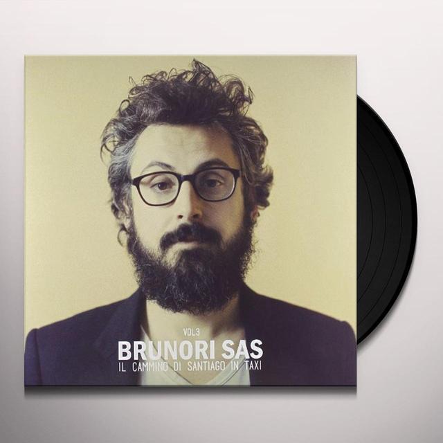Brunori Sas IL CAMMINO DI SANTIAGO IN TAXI 3 Vinyl Record - Italy Import