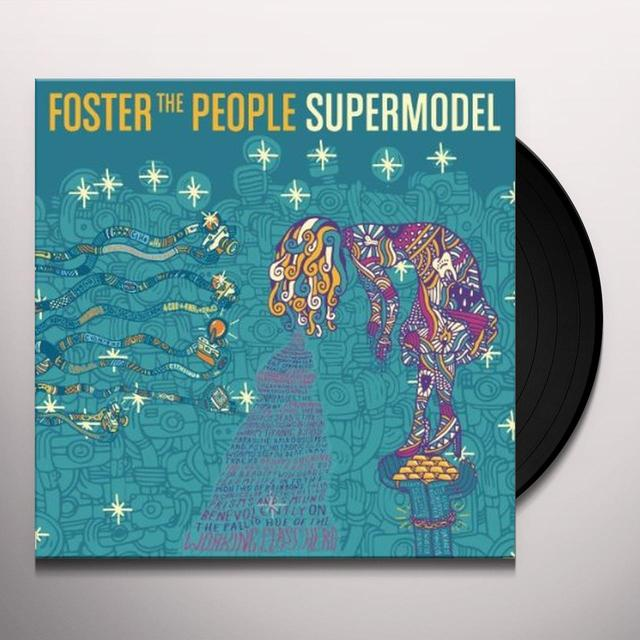 Foster The People SUPERMODEL Vinyl Record