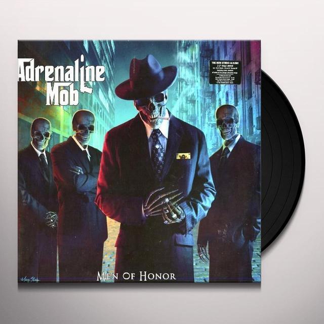 Adrenaline Mob MEN OF HONOR (FRA) Vinyl Record