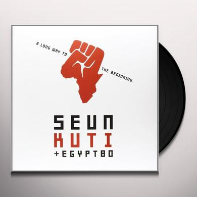 Seun Kuti & Egypt 80 LONG WAY TO THE BEGINNING Vinyl Record