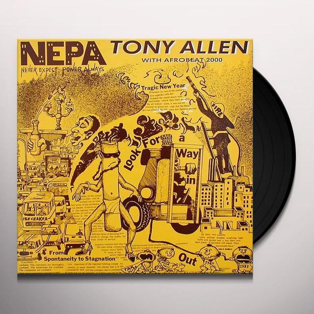 Tony Allen N.E.P.A. Vinyl Record