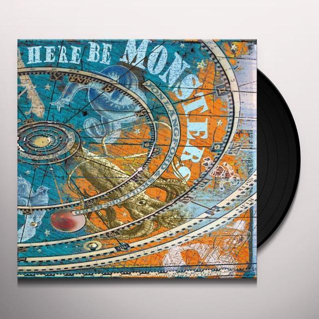 Jon Langford & Skull Orchard HERE BE MONSTERS Vinyl Record