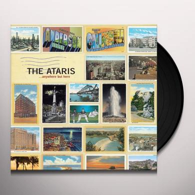 Ataris ANYWHERE BUT HERE Vinyl Record