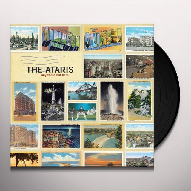 Ataris ANYWHERE BUT HERE Vinyl Record - Limited Edition