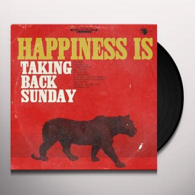 Taking Back Sunday HAPPINESS Vinyl Record