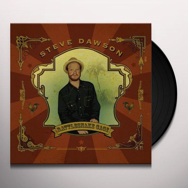 Steve Dawson RATTLESNAKE CAGE Vinyl Record