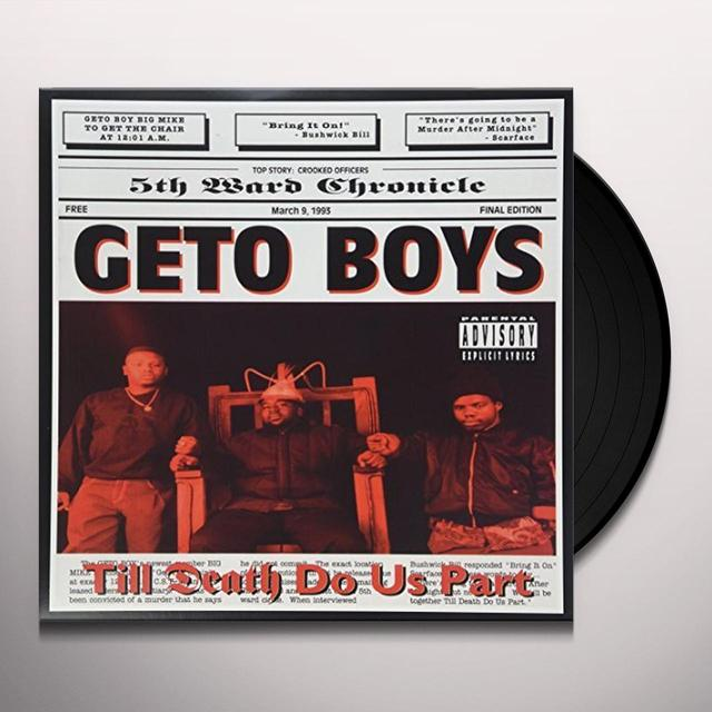 Geto Boys TIL DEATH DO US PART Vinyl Record