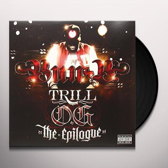 Bun B TRILL OG THE EPILOGUE Vinyl Record