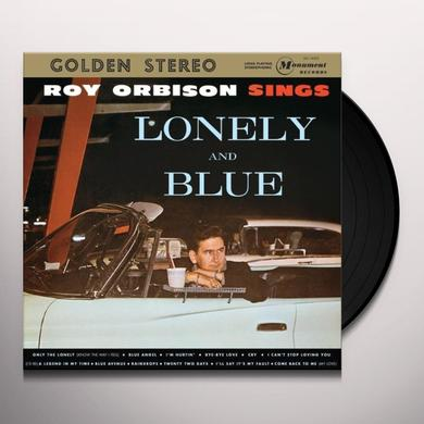Roy Orbison SINGS LONELY & BLUE Vinyl Record - Limited Edition, 180 Gram Pressing