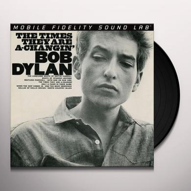 Bob Dylan TIMES THEY ARE A-CHANGIN Vinyl Record - Limited Edition, 180 Gram Pressing