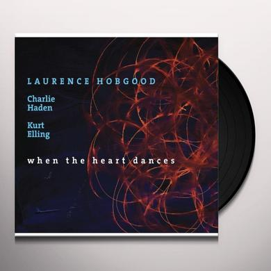 Laurence Hobgood WHEN THE HEART DANCES Vinyl Record - Gatefold Sleeve