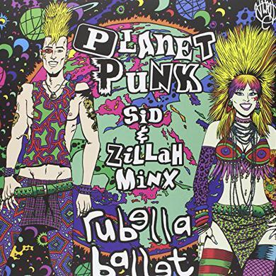 Rubella Ballet PLANET PUNK Vinyl Record