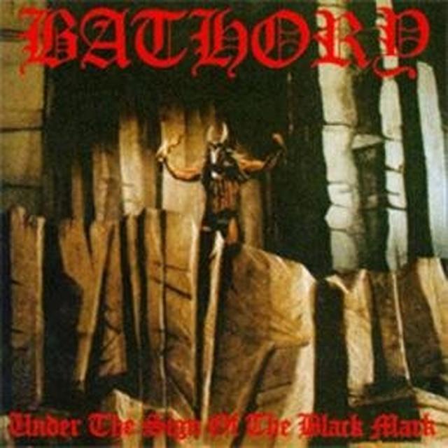 Bathory UNDER THE SIGN OF THE BLACK Vinyl Record - UK Import