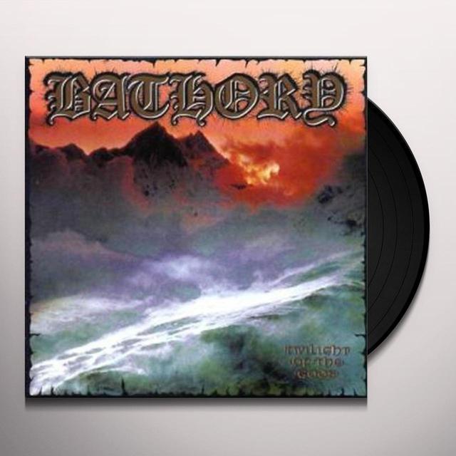 Bathory TWILIGHT OF THE GODS Vinyl Record - UK Import