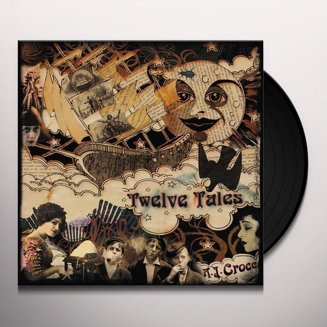 A.J. Croce TWELVE TALES Vinyl Record