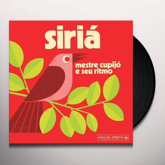 Mestre Cupijo E Seu Ritmo SIRIA Vinyl Record
