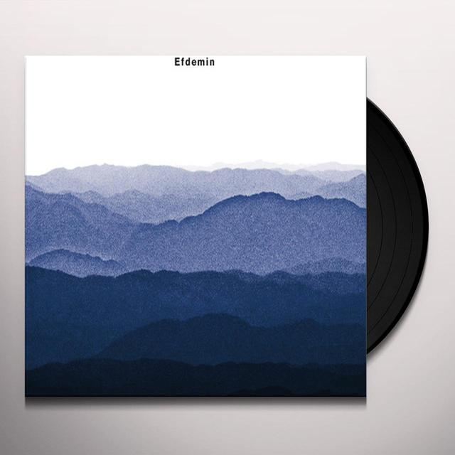 Efdemin DECAY Vinyl Record