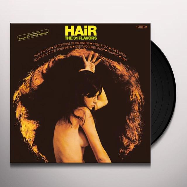 31 Flavors HAIR Vinyl Record