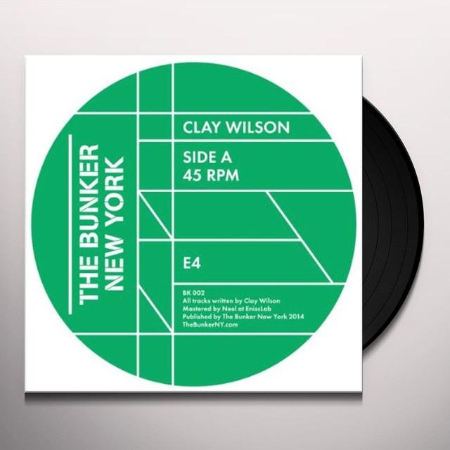 Clay Wilson BUNKER NEW YORK 002 Vinyl Record