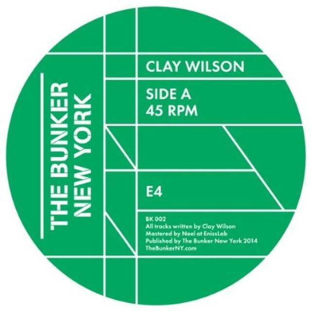 Clay Wilson BUNKER NEW YORK 002 Vinyl Record