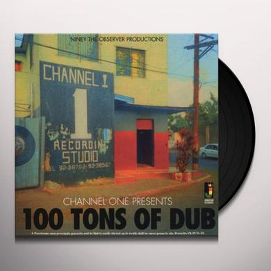 Niney The Observer CHANNEL ONE PRESENTS: 100 TONS OF DUB Vinyl Record