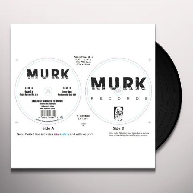 Murk DARK BEAT (ADDICTED TO DRUMS) Vinyl Record