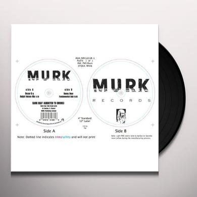Murk DARK BEAT (ADDICTED TO DRUMS) Vinyl Record