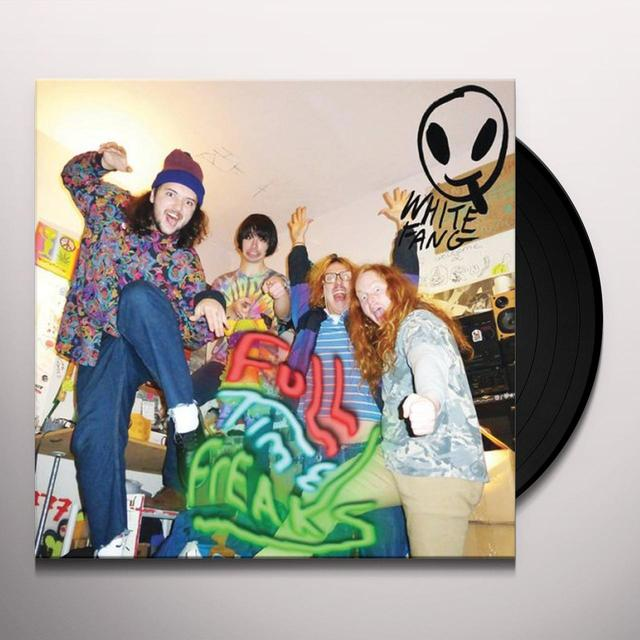 White Fang FULL TIME FREAKS Vinyl Record