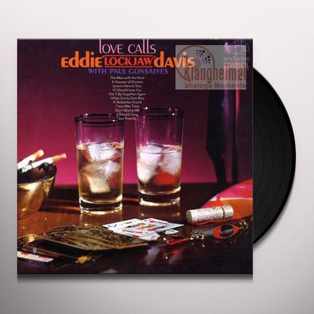 Eddie Lockjaw Davis LOVE CALLS Vinyl Record