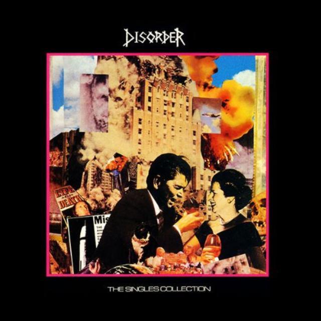 Disorder SINGLES COLLECTION Vinyl Record