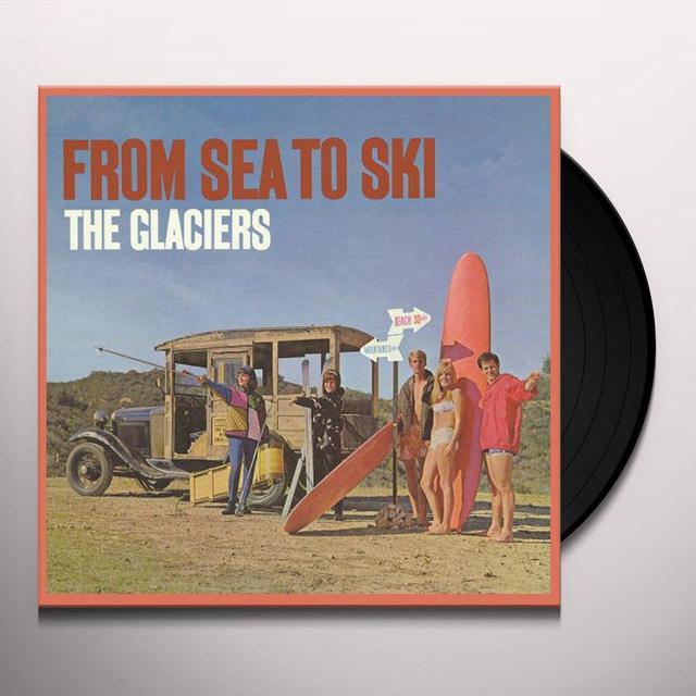 Glaciers FROM SEA TO SKI Vinyl Record