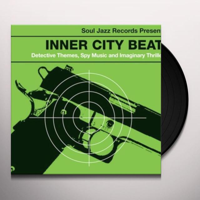 Soul Jazz Records Presents INNER CITY BEAT Vinyl Record