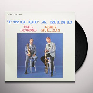 Paul Desmond / Gerry Mulligan TWO OF A MIND Vinyl Record