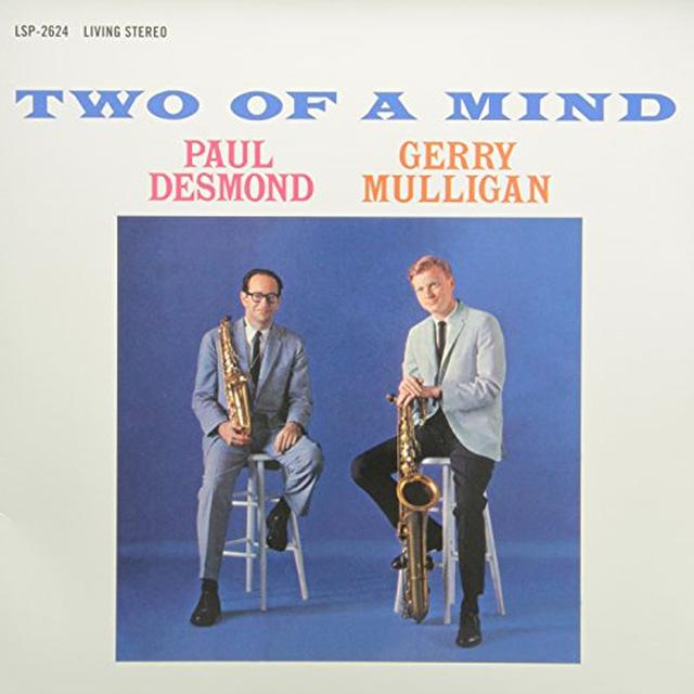 Paul Desmond / Gerry Mulligan TWO OF A MIND Vinyl Record