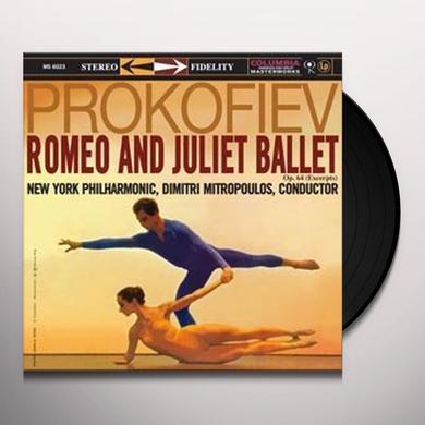 Dimitri Mitropoulos ROMEO & JULIET BALLET Vinyl Record