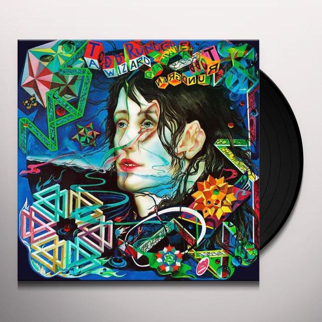 Todd Rundgren WIZARD A TRUE STAR Vinyl Record - Limited Edition, 180 Gram Pressing