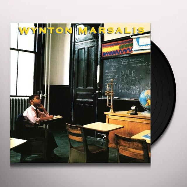 Wynton Marsalis BLACK CODES (FROM THE UNDERGROUND) Vinyl Record - 180 Gram Pressing