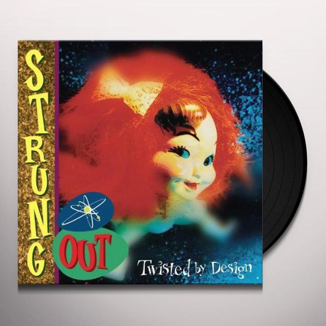 Strung Out TWISTED BY DESIGN Vinyl Record - Reissue