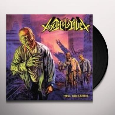 Toxic Holocaust HELL ON EARTH Vinyl Record