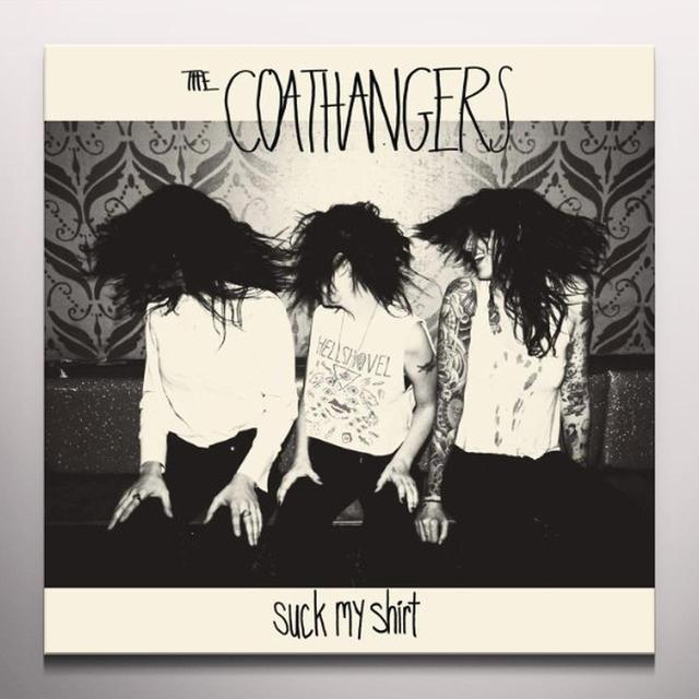 The Coathangers SUCK MY SHIRT Vinyl Record - Colored Vinyl, Digital Download Included