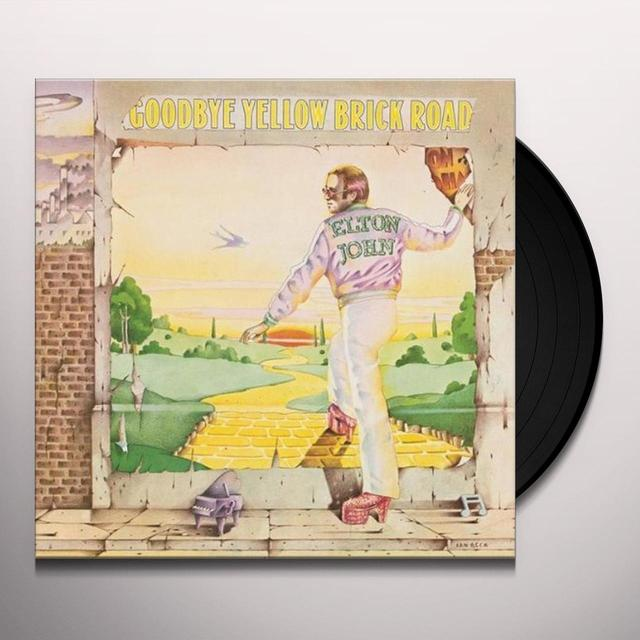 Elton John GOODBYE YELLOW BRICK ROAD Vinyl Record - Remastered