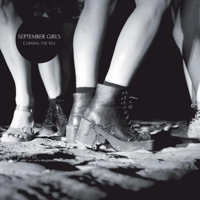 September Girls CURSING THE SEA Vinyl Record - 180 Gram Pressing