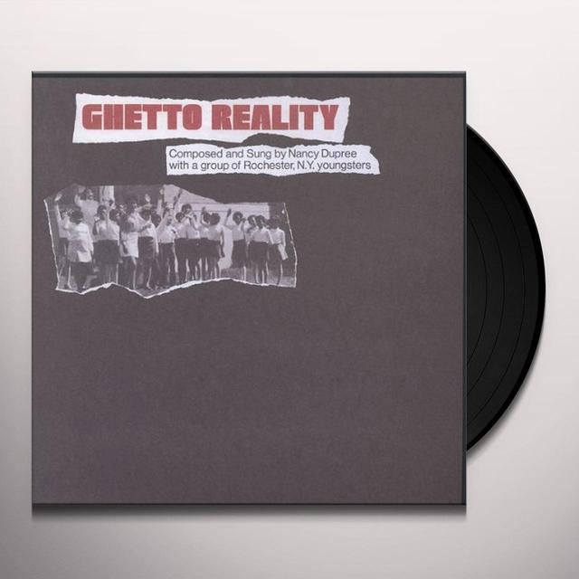 Nancy Dupree GHETTO REALITY Vinyl Record