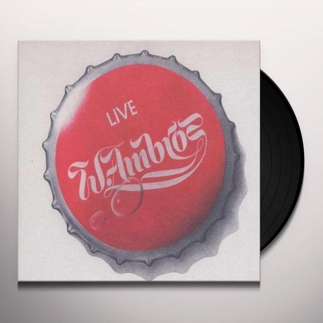 Wolfgang Ambros LIVEAUF ANA LANGEN FINSTER'N STR (GER) Vinyl Record