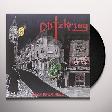 Blitzkrieg BACK FROM HELL (GER) Vinyl Record