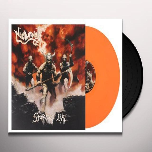 Nocturnal STORMING EVIL Vinyl Record