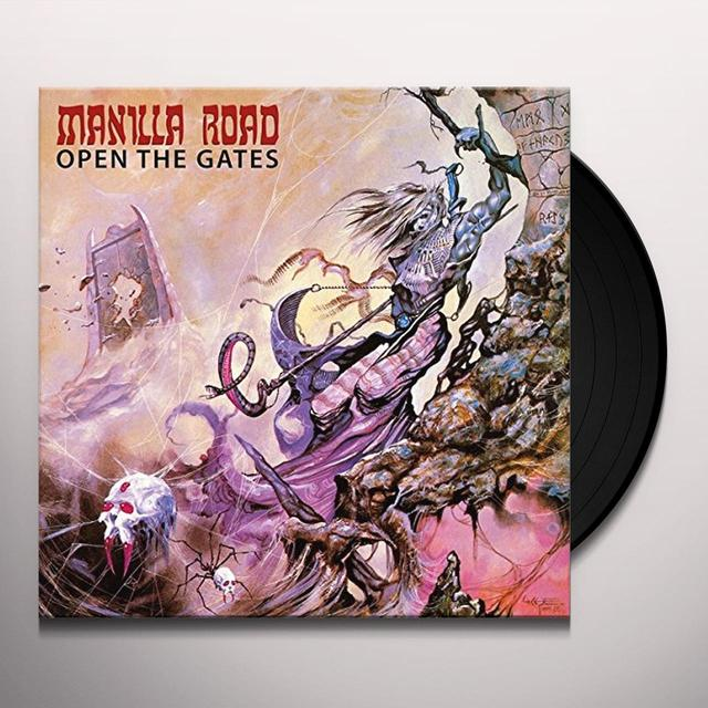 Manilla Road OPEN THE GATES Vinyl Record
