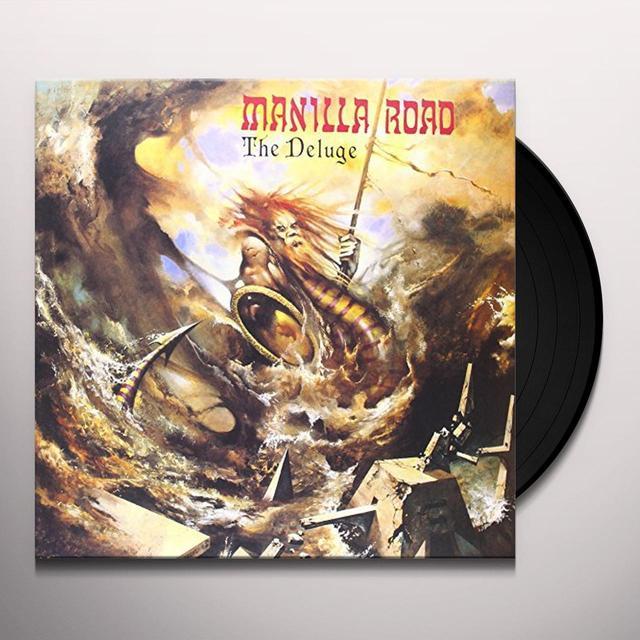 Manilla Road DELUGE (GER) Vinyl Record