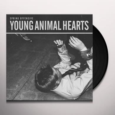 Spring Offensive YOUNG ANIMAL HEARTS Vinyl Record - UK Import