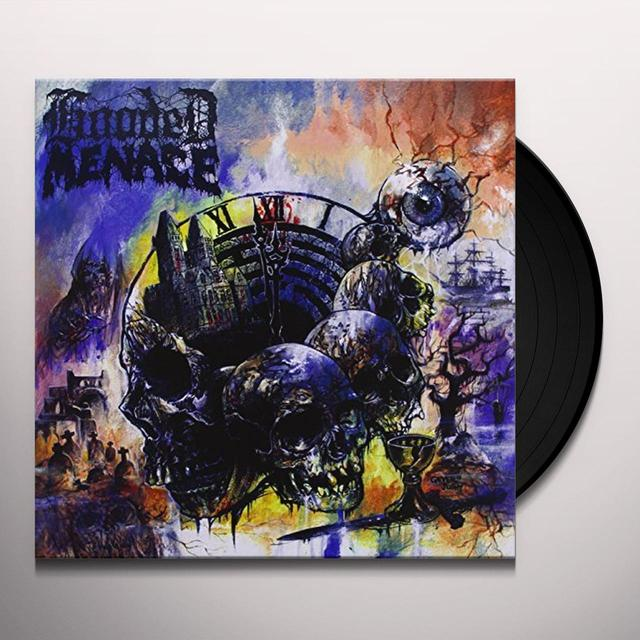 Hooded Menace LABYRINTH OF CARRION BREEZE Vinyl Record - UK Import